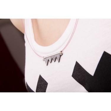 Necklace Vinyl Teeth (Small / Long)