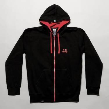 Shatterface Hoodie Red