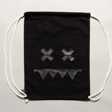 Cotton Gymbag II Black / Black