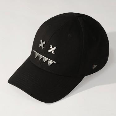 Metal Logo Snapback Dad Hat RAW