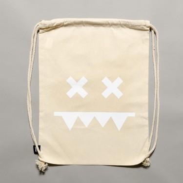Cotton Gymbag II Natural / White