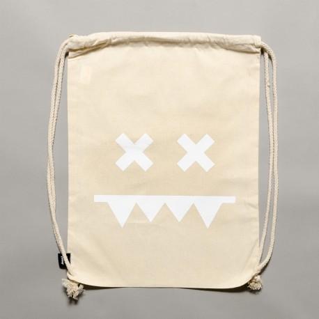 Cotton Gymbag II Natural / White