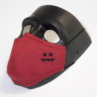 Premium 3 Layer Face Mask (Red)