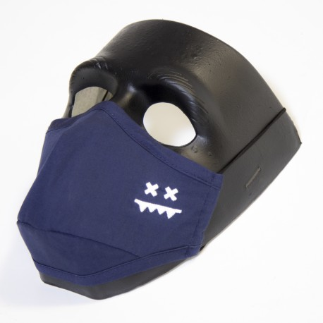 Face Mask Premium (Navy)
